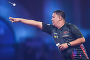 Noel Malicdem during the PDC William Hill World Darts Championship at Alexandra Palace, London, United Kingdom on 17 December 2019.