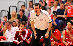 Bristol Flyers head coach, Andreas Kapoulas  - Photo mandatory by-line: Joe Meredith/JMP - Mobile: 07966 386802 - 18/04/2015 - SPORT - Basketball - Bristol - SGS Wise Campus - Bristol Flyers v Leeds Force - British Basketball League