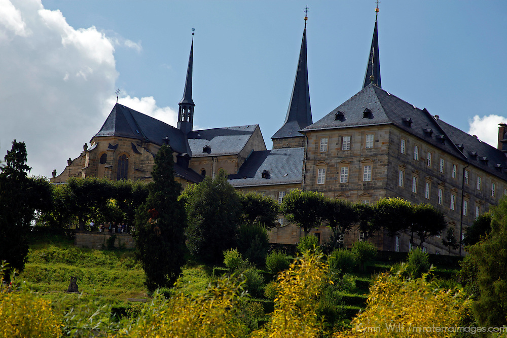 Europe, Germany, Bamberg. Michaelsberg Abbey of Bamberg.