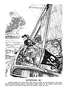 """Southward Ho! """"After difficult navigation, we are in view of the harbour. We will reach it with sails spread. We shall carry with us, as always, the force, the justice and the civilisation of Rome."""" - Signor Mussolini."""