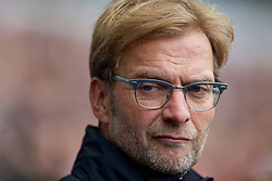 LONDON, ENGLAND - Saturday, October 17, 2015: Liverpool's manager Jürgen Klopp before the Premier League match against Tottenham Hotspur at White Hart Lane. (Pic by David Rawcliffe/Kloppaganda)