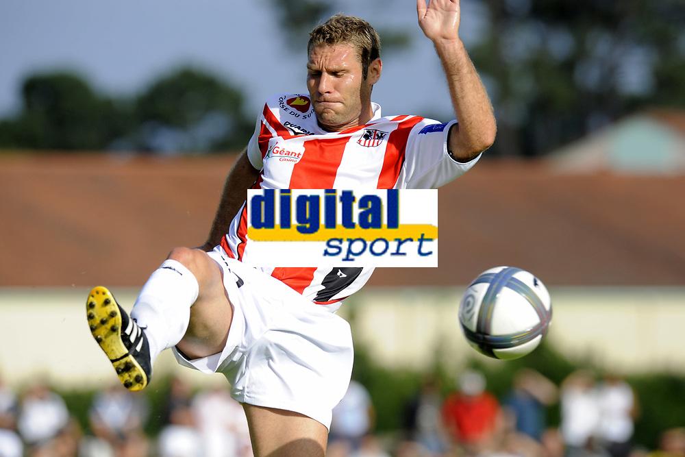 FOOTBALL - FRIENDLY GAMES 2010/2011 - GIRONDINS BORDEAUX v AC AJACCIO - 17/07/2010 - PHOTO JEAN MARIE HERVIO / DPPI - ARNAUD MAIRE (ACA)