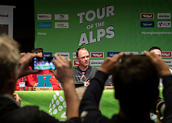 21.04.2019, Kufstein, AUT, Tour of the Alps, Pressekonferenz, im Bild // during Pressconference before the 1st Stage of the Tour of the Alps Cyling Race in in Kufstein, Austria on 2019/04/21. EXPA Pictures © 2019, PhotoCredit: EXPA/ Reinhard Eisenbauer