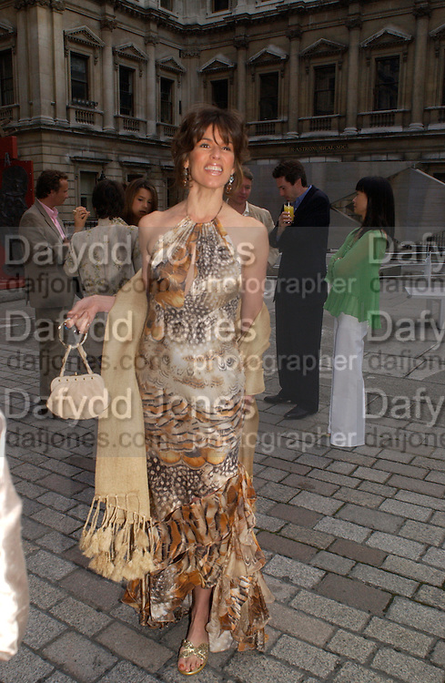 Christina Juffali, ( Estrada) Around the World in One night, gala to raise money for the Royal Academy,   Royal Academy. 21 June 2004. ONE TIME USE ONLY - DO NOT ARCHIVE  © Copyright Photograph by Dafydd Jones 66 Stockwell Park Rd. London SW9 0DA Tel 020 7733 0108 www.dafjones.com