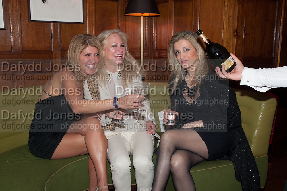 SIGAL HILLEL; DR. LABET STERLING; SHOSHANA DADUN, Rocco Forte's Brown's Hotel Hosts 175th Anniversary Party, Browns Hotel. Albermarle St. London. 16 May 2013