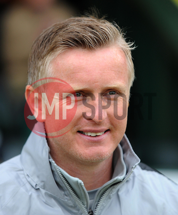 Yeovil Town's Acting Manager Terry Skiverton - Photo mandatory by-line: Harry Trump/JMP - Mobile: 07966 386802 - 03/04/15 - SPORT - FOOTBALL - Sky Bet League One - Yeovil Town v Chesterfield - Huish Park, Yeovil, England.