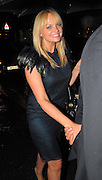 06.AUGUST.2009 - LONDON<br /> <br /> EMMA BUNTON WHO CHANGED INTO TWO DIFFERENT OUTFITS AND HER HUSBAND JADE JONES LEAVING GERI HALLIWELL 37TH BIRTHDAY PARTY AT THE PALM RESTAURANT, KNIGHTSBRIDGE. <br /> <br /> BYLINE: EDBIMAGEARCHIVE.COM<br /> <br /> *THIS IMAGE IS STRICTLY FOR UK NEWSPAPERS & MAGAZINES ONLY*<br /> *FOR WORLDWIDE SALES & WEB USE PLEASE CONTACT EDBIMAGEARCHIVE - 0208 954 5968*