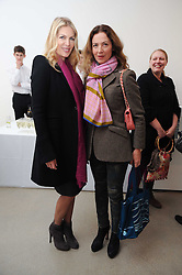 Left to right, PRISCILLA WATERS and SUSANNA KAPOOR at a party to celebrate the publication of Allegra Hick's book 'An Eye For Design' held at he Timothy Taylor Gallery, Carlos Place, London on 23rd November 2010.
