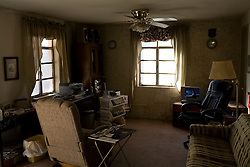The inside of a home that will be weatherized by the Community Action Agency of Southern New Mexico(CAASNM). The CAASNM received stimulus funding and, among other things, works on weatherizing the homes of poor families and individuals in New Mexico.
