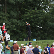 Jason Day, Australia, in action during the fourth round of theThe Barclays Golf Tournament at The Ridgewood Country Club, Paramus, New Jersey, USA. 24th August 2014. Photo Tim Clayton