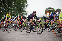 Tiffany Cromwell (AUS) of CANYON//SRAM Racing rides mid-pack during the 141 km road race of the UCI Women's World Tour's 2016 Crescent Vårgårda women's road cycling race on August 21, 2016 in Vårgårda, Sweden. (Photo by Balint Hamvas/Velofocus)