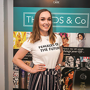 Abbie Whitehead attends the Threads & Co Beauty launches permanent retail concept store everything from coffee to beauty to retail therapy on 24th May 2017. by See Li