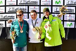 , Snowboard Cross at the WPSB_2019 Para Snowboard World Cup, La Molina, Spain