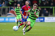 Forest Green Rovers Christian Doidge(9) during the Vanarama National League match between Forest Green Rovers and Aldershot Town at the New Lawn, Forest Green, United Kingdom on 5 November 2016. Photo by Shane Healey.