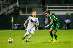 Martin Milec of NK Maribor vs Savic Stefan of NK Olimpija Ljubljana during a football game between NK Olimpija Ljubljana and NK Maribor in Final Round (18/19)  of Pokal Slovenije 2018/19, on 30th of May, 2014 in Arena Z'dezele, Ljubljana, Slovenia. Photo by Matic Ritonja / Sportida