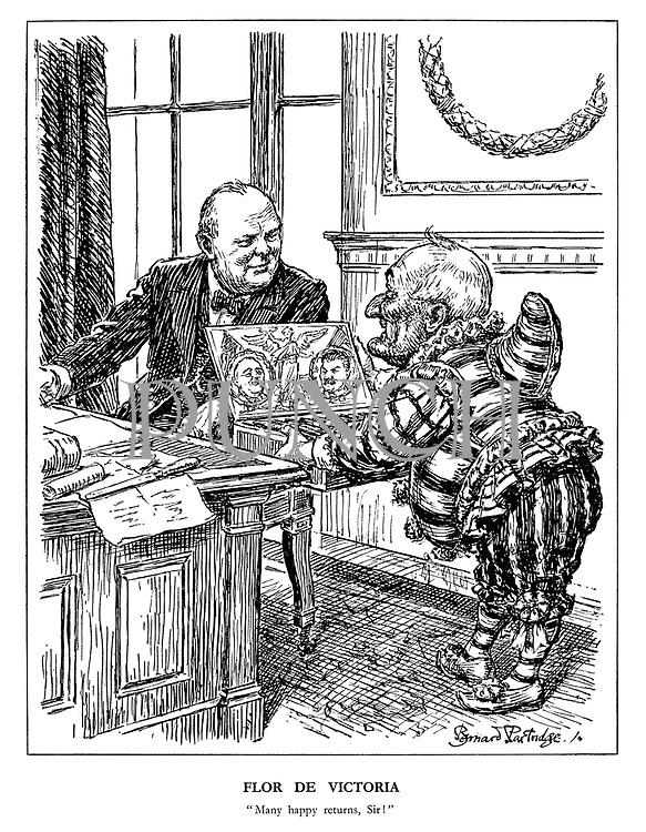 WW2 Cartoons from Punch magazine by Bernard Partridge