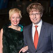 NLD/Scheveningen/20131130 - Inloop concert 200 Jaar Koningrijk der Nederlanden, Sander Dekker en partner