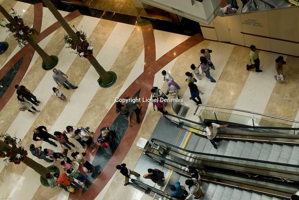 Pondok Indah shopping center in Jakarta, Indonesia.