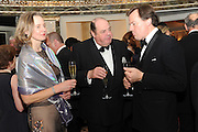 SERENA SOAMES; HON NICHOLAS SOAMES; JULIAN DOLLAR, The Cartier Racing Awards. The Ballroom, Dorchester hotel. Park Lane. London. 15 November 2011. <br /> <br />  , -DO NOT ARCHIVE-© Copyright Photograph by Dafydd Jones. 248 Clapham Rd. London SW9 0PZ. Tel 0207 820 0771. www.dafjones.com.