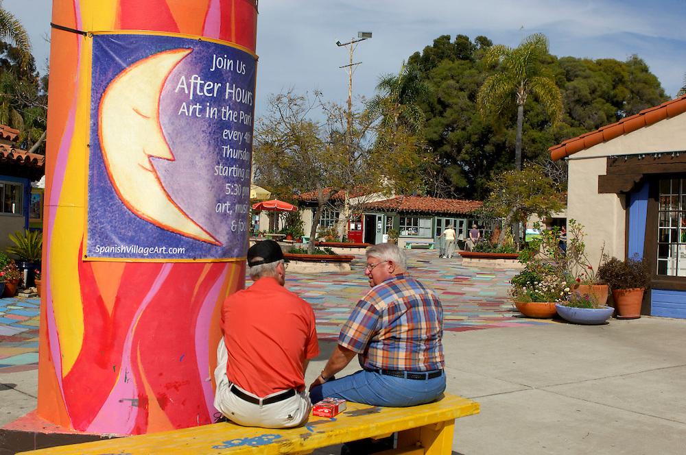 Spanish Village Art Center, Balboa Park, San Diego, California, United States of America