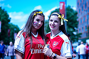 Arsenal fans before the The FA Cup Final match between Arsenal and Chelsea at Wembley Stadium, London, England on 27 May 2017. Photo by Sebastian Frej.
