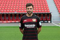German Bundesliga - Season 2016/17 - Photocall Bayer 04 Leverkusen on 25 July 2016 in Leverkusen, Germany: Admir Mehmedi. Photo: Guido Kirchner/dpa | usage worldwide