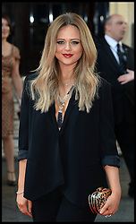 Emily Atack arrives for the BAFTA TV Awards at the Theatre Royal, London, United Kingdom. Sunday, 18th May 2014. Picture by Andrew Parsons / i-Images