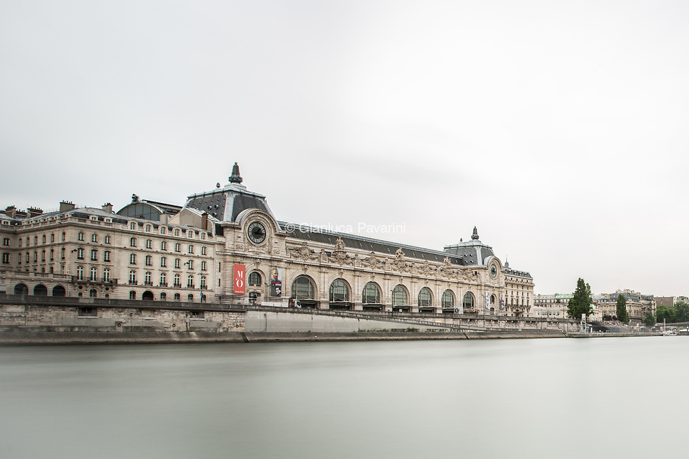Paris landscapes, long exposure Musé D'Orsay