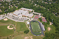 AstroTurf field aerial Image of Broadneck High School by Jeffrey Sauers of Commercial Photographics, Architectural Photo Artistry in Washington DC, Virginia to Florida and PA to New England