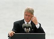 President Bill Clinton visits Sydney, 1996.