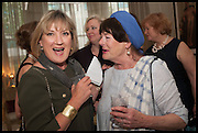 SUE CREWE; MIN HOGG, Nicky Haslam hosts a party to launch a book by  Maureen Footer 'George Stacey and the Creation of American Chic' . With a foreword by Mario Buatta. Kensington. London. 11 June 2014