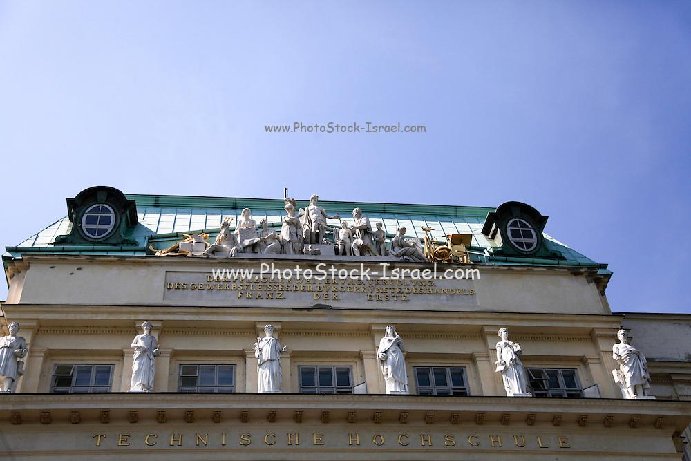 Karlsplatz in Vienna, Austria