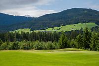 WESTENDORF -  Tirol   Oostenrijk,  -  hole 11. Golfanlage Kitzbuheler Alpen Westendorf.    COPYRIGHT KOEN SUYK
