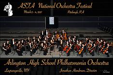 Arlington High School Philharmonia Orchestra