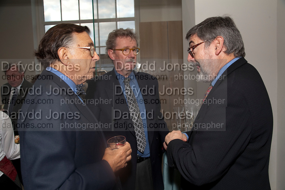 NORMAN KURLAND; CHRISTOPHER GRAYLING; DAVID LANDIS, Opening of the V. and A.'s New Ceramics Galleries by the Princess Royal. V. & A. London. 16 September 2009
