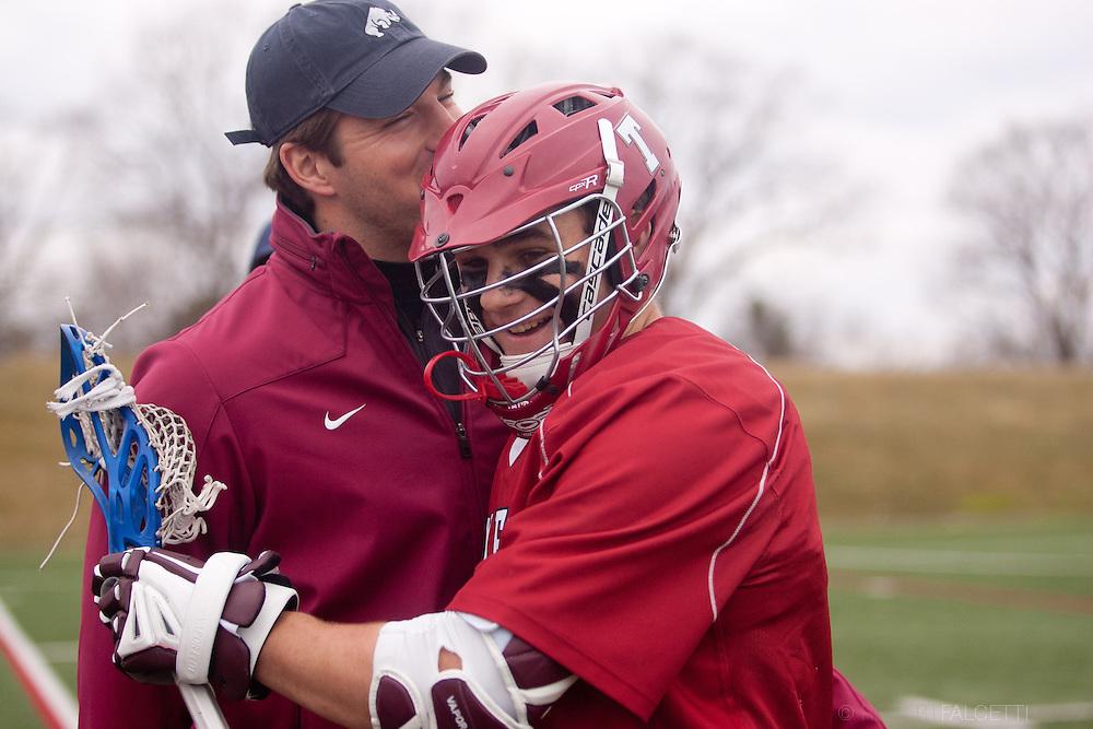 Taft School-April 2013- Boys Varsity Lacrosse. (Photo by Robert Falcetti)