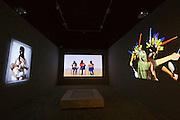 "56th Art Biennale in Venice - All The World's Futures.<br /> Giardini.<br /> Venezuela pavilion.<br /> Argelia Bravoi, ""Si nos importa el bledo!!!"""
