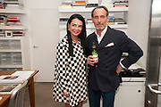MARY BOONE; DAVID SALLE, David Salle private view at the Maureen Paley Gallery. 21 Herlad St. London. E2. <br /> <br />  , -DO NOT ARCHIVE-&copy; Copyright Photograph by Dafydd Jones. 248 Clapham Rd. London SW9 0PZ. Tel 0207 820 0771. www.dafjones.com.