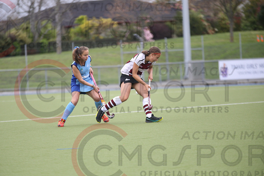 2017 National Under 15 Girls Championship Tournament<br /> NORTH HARBOUR B V NORTHLAND B<br /> Timaru<br /> October 10 2017<br /> Photo by CMGSPORT<br /> www.cmgsport.co.nz