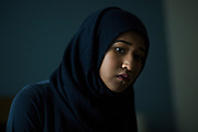 Heraa Hashmi, a student at the University of Colorado, at her home in Erie, Colo., on June 1, 2017. During a history class, a fellow classmate insisted that Muslims never denounce acts of terrorism committed in the name of Islam. In response, Hashmi created a database of over 5,700 cases where Muslims have condemned terrorism.