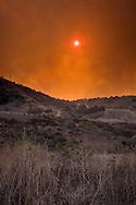 Brea Canyon Fire, Southern California