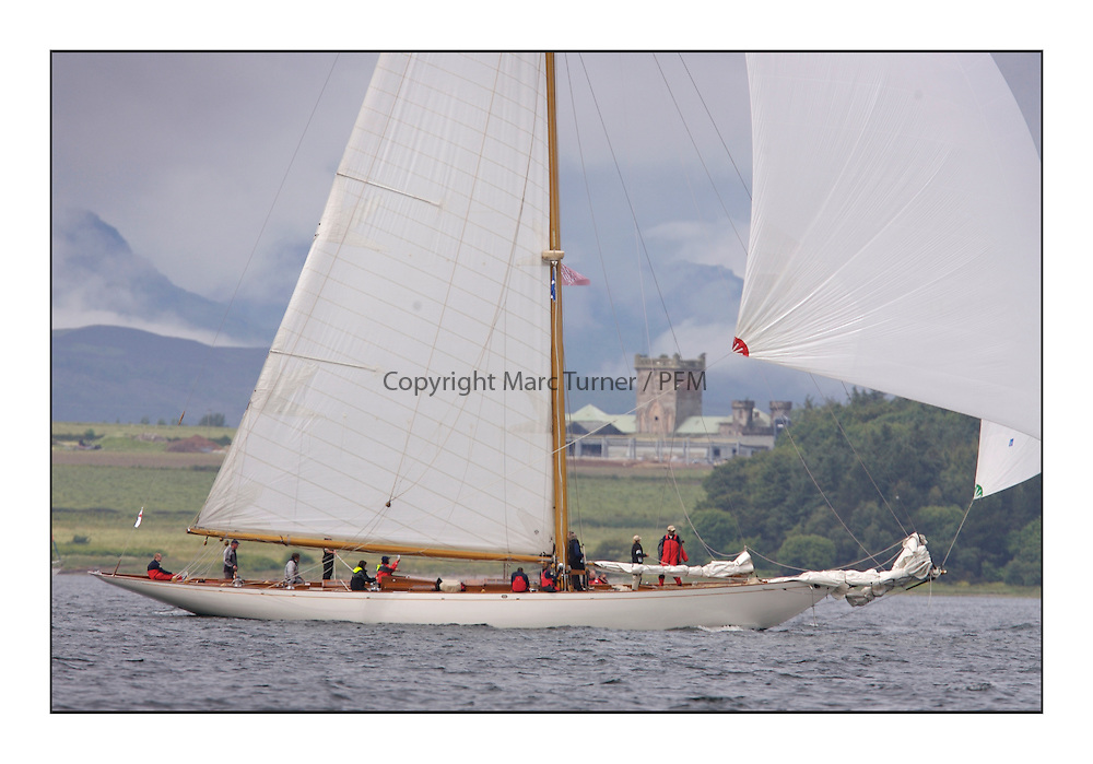 Halloween 1926 Berm Sloop off Roseneath,..* The Fife Yachts are one of the world's most prestigious group of Classic  yachts and this will be the third private regatta following the success of the 98,  and 03 events.  ..Marc Turner / PFM Pictures