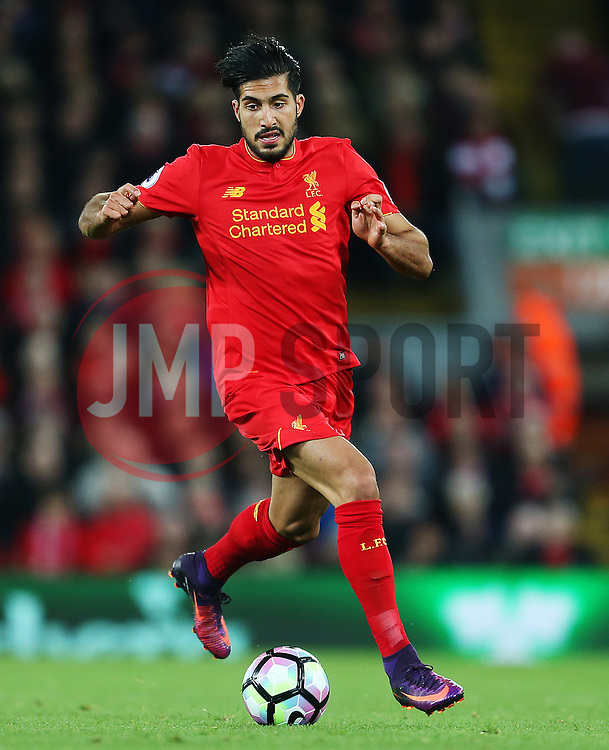 Emre Can of Liverpool - Mandatory by-line: Matt McNulty/JMP - 22/10/2016 - FOOTBALL - Anfield - Liverpool, England - Liverpool v West Bromwich Albion - Premier League
