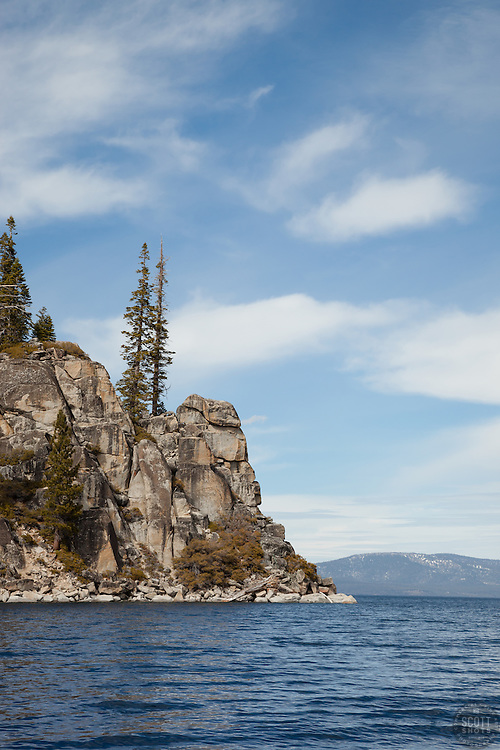"""""""Boulders at Lake Tahoe 38"""" - These boulders were photographed along the West shore of Lake Tahoe."""