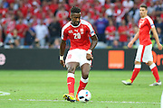 Switzerland Defender Johan Djourou during the Euro 2016 Group A match between Switzerland and France at Stade Pierre Mauroy, Lille, France on 19 June 2016. Photo by Phil Duncan.