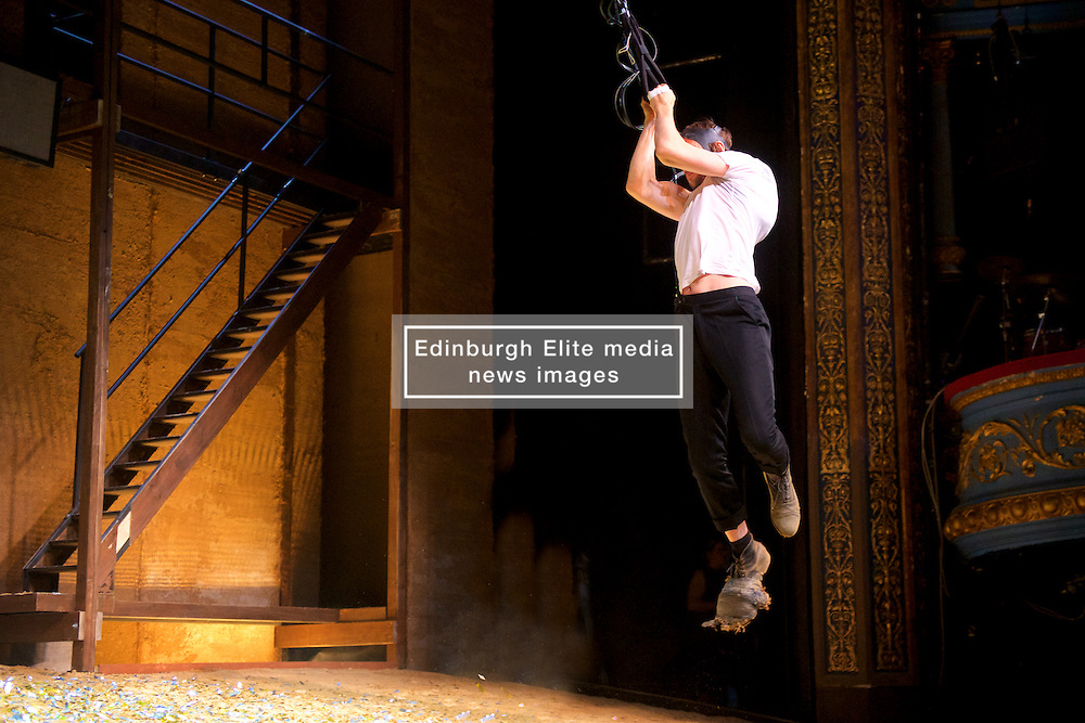 Deeply influential theatre maker Thomas Ostermeier returns to the Edinburgh International Festival with a raw, gritty reimagining of Shakespeare's unflinching study of evil, in a compelling and critically acclaimed production from Berlin's Schaubühne Theatre. 24th August 2016, (c) Brian Anderson | Edinburgh Elite media