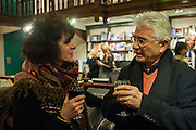RUTH PADEL;  NICO PAPADAKIS;, William Fitzgerald, Book launch ,  'How to read a Latin poem - if you can't read Latin yet' published by OUP.- Daunts bookshop Marylebone, London 21 February 2013.