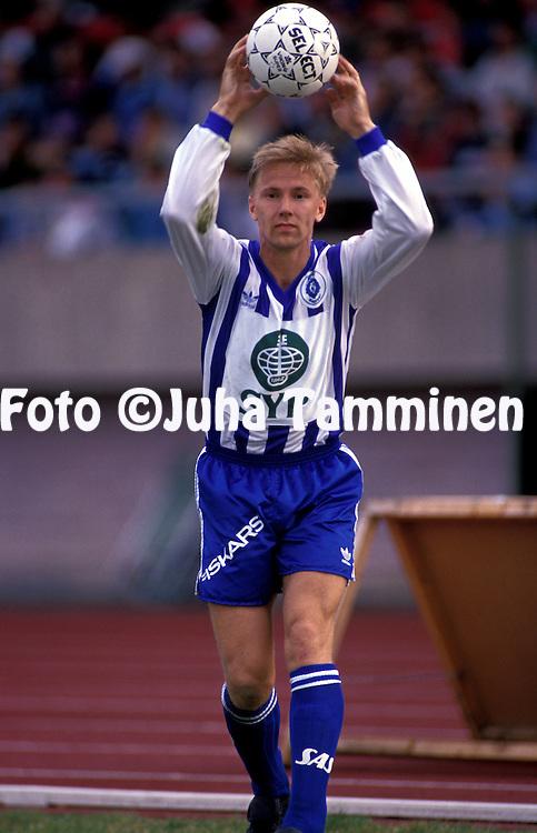 06.05.1993.Pekka Onttonen - HJK Helsinki.©Juha Tamminen
