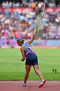 Barbora Spotakova of Czechoslovakia  during the Women's Javelin at the Muller Anniversary Games at the London Stadium, London, England on 9 July 2017. Photo by Martin Cole.