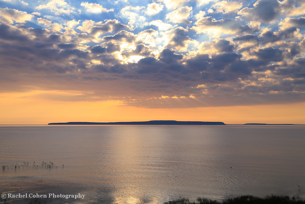 &quot;Dawn above Mackinac&quot;<br />